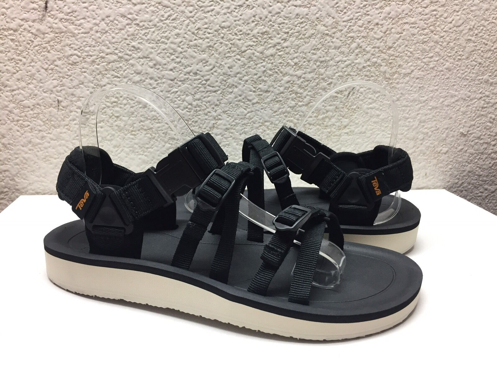 TEVA WOMEN ALP PREMIER BLACK STRAPPY 9 SPORT SANDALS US 9 STRAPPY / EU 40 / UK 7 NIB 7465ea