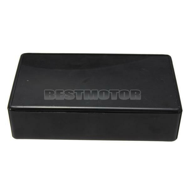 ABS Black Plastic Electronic Project Box Enclosere Instrument Case 100x60x25mm