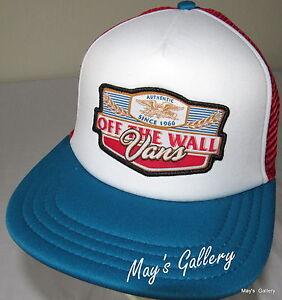 8dc6e3a8 Vans BaseBall Cap Ball Hat Military NWT Beach One Size Snap back ...