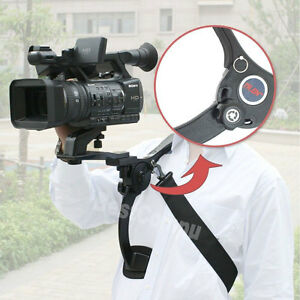 New HD DSLR DV Camera Shoulder Mount Support Pad Stabilizer For Video Camcorder
