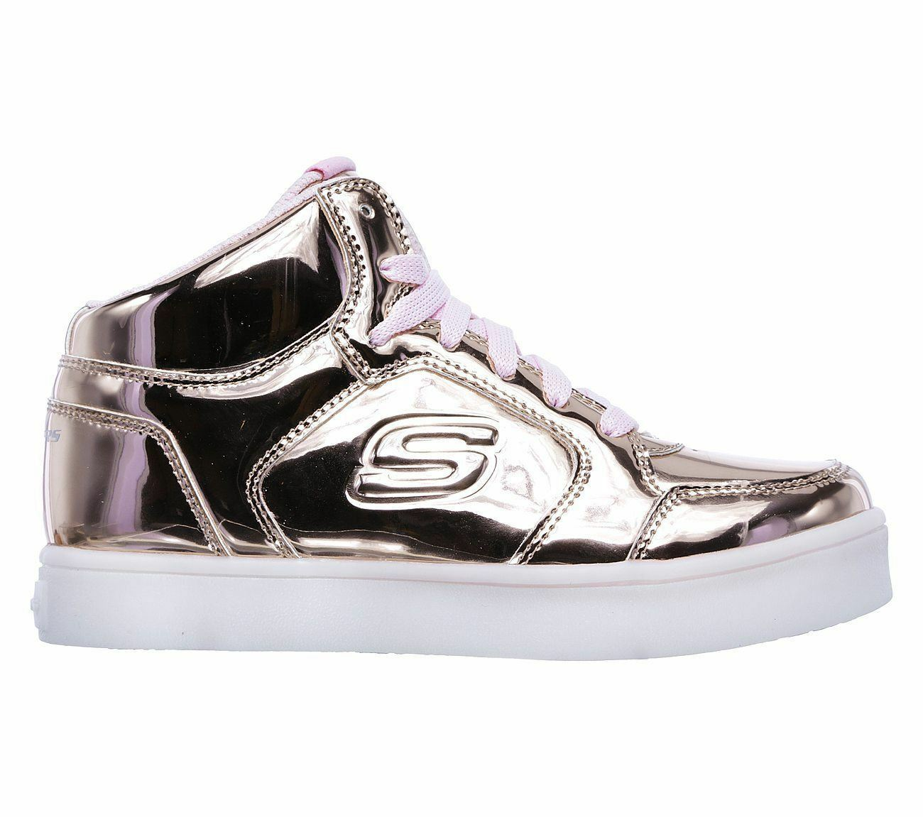 SKECHERS 10771 RSGD Rose Gold S Lights Energy Lights
