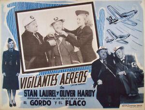AIR-RAID-WARDENS-LAUREL-amp-HARDY-1943-OPTIONAL-SET-MEXICAN