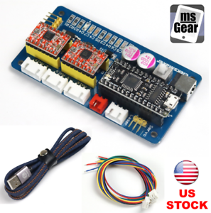 2-Axis-Stepper-Motor-Driver-Controller-Board-For-DIY-Laser-Engraver-USB-Cable