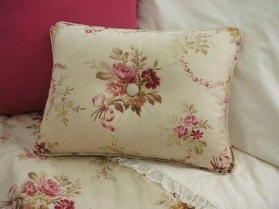 NEW Custom Ralph Lauren Marseilles Accent Pillow 2 Button