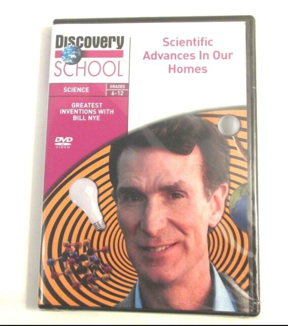 Bill Nye SCIENTIFIC ADVANCES IN OUR HOMES DVD Discovery School Science Grds 6-12