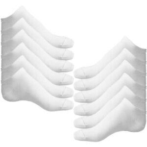 6-paires-de-Chaussettes-de-Sport-en-Coton-Riche-blanc-pour-Homme-O5S4