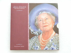 2000-Royal-Mint-Queen-Mother-Centenary-BU-5-Five-Pound-Crown-Coin-Pack