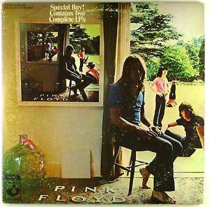 "2x 12"" LP - Pink Floyd - Ummagumma - #A3127 - washed & cleaned"