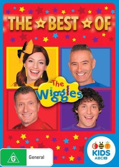 The WIGGLES - Best Of Wiggles (DVD, 2018) : NEW
