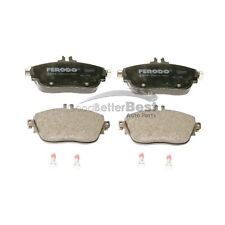 For Mercedes W117 CLA250 4Matic Front /& Rear Brake Pad Set w// Sensor Ferodo