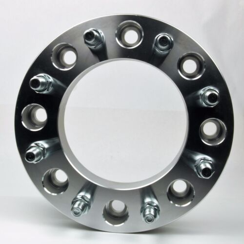 """2PCs F350 Wheel Spacer 8x200 Studs 14x1.5 Thick 2/"""" Ford Dually Wheel Spacer"""