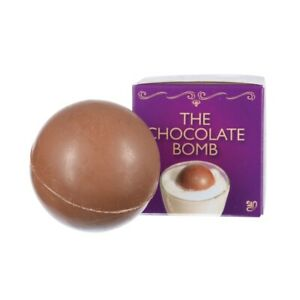 Hot Chocolate Bomb Marshmallow Bedtime Treat Drink Kids Sleepover Novelty Gift