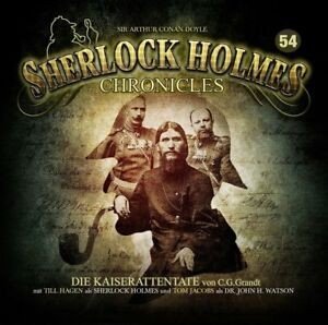 SHERLOCK-HOLMES-CHRONICLES-DIE-KAISERATTENTATE-FOLGE-54-2-CD-NEW