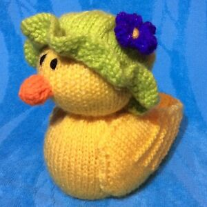 KNITTING PATTERN - Mother Duck chocolate orange cover or 15 cms toy eBay
