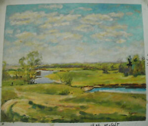 LANDSCAPE-ART-30-IMAGES-2-CHOOSE-FROM-OIL-PAINTING-ROLLED-OR-STRETCHED-20X24-034