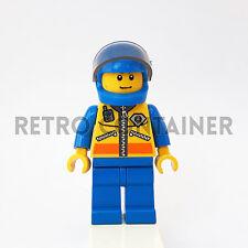 LEGO Minifigures - 1x cty071 - Coast Guard Pilot - City Omino Minifig Set 7738