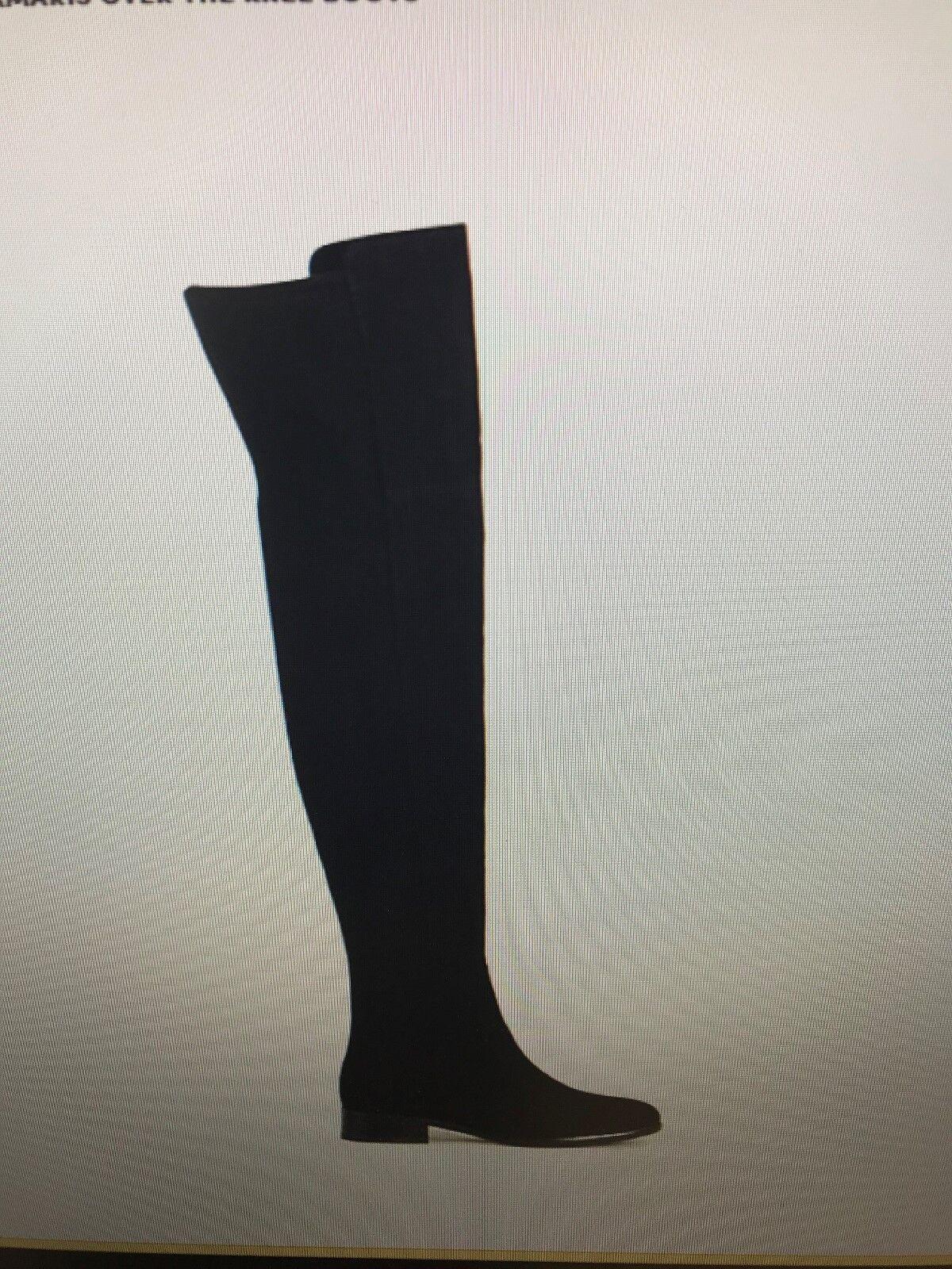 Ann Taylor registró sobre la rodilla botas-Negro 9 1 1 1 2 - Nuevo En Caja  orden ahora disfrutar de gran descuento