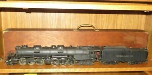 Adams-amp-Son-O-Scale-3917-Southern-Pacific-Lines-2-6-6-4-Steam-Locomotive-Tender