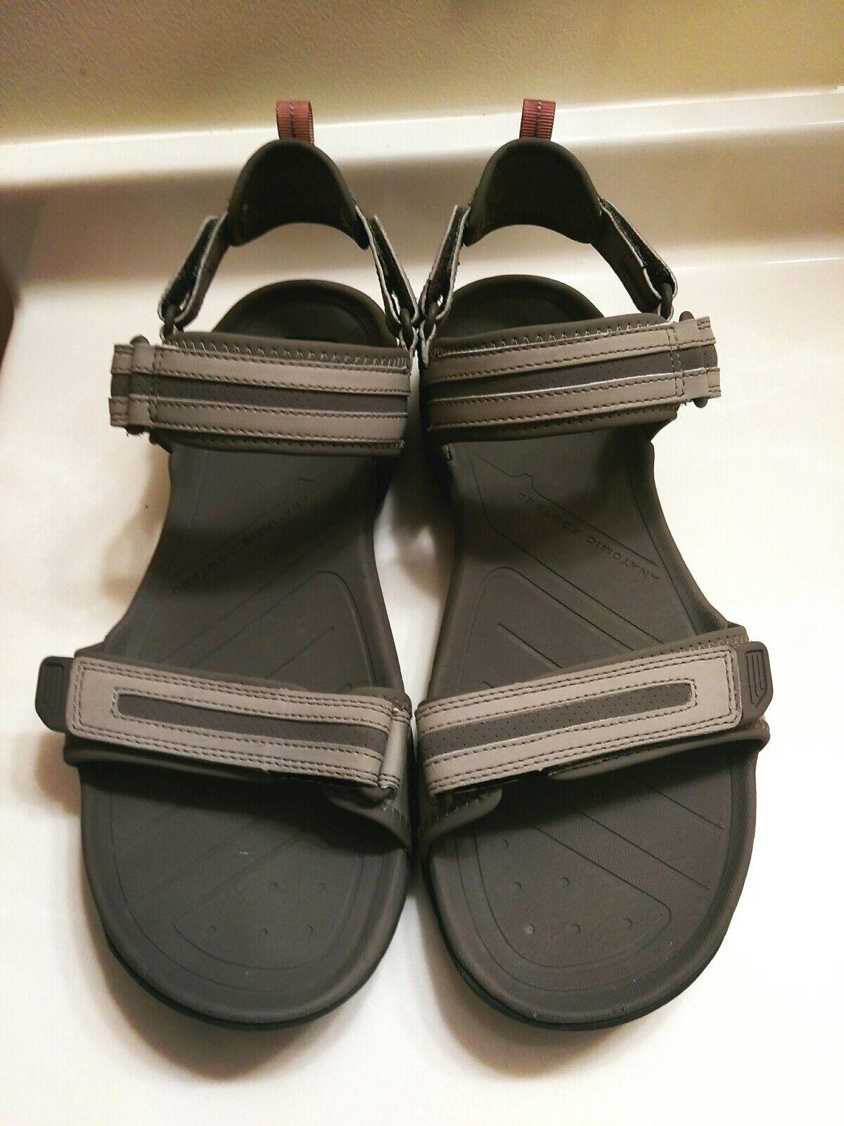 73c87d32b16e3 ... Teva NS 1002341Sandals Gray Leather Shoes Men s Size Size Size 13 EC  0798b9 ...