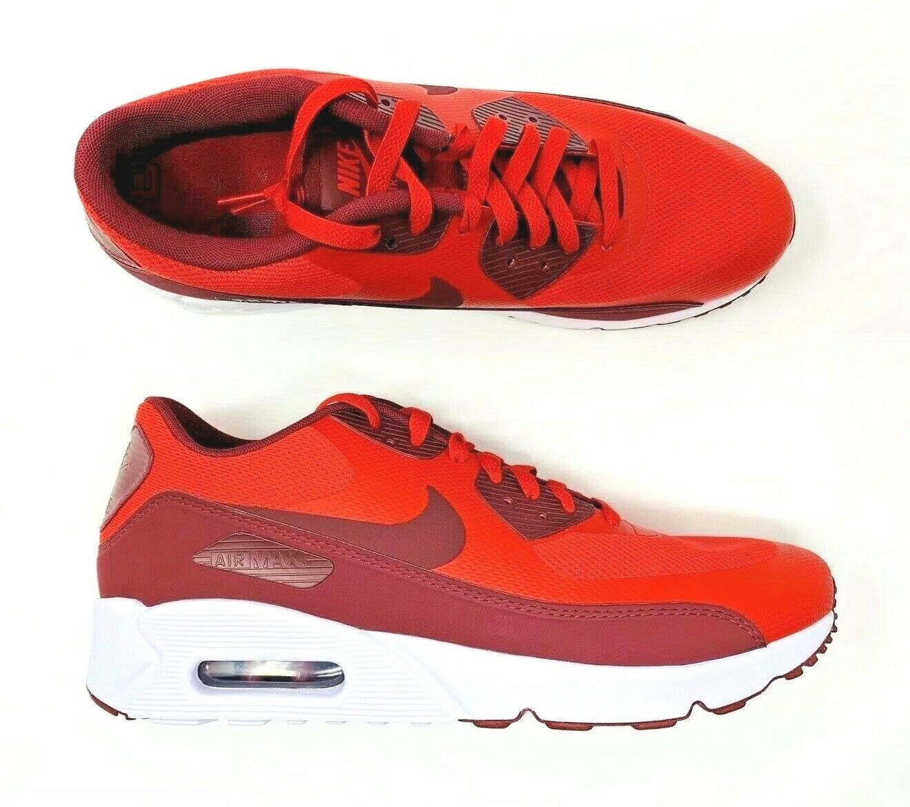 Nike Air Max 90 Ultra 2.0 Essential University Red White 875695-600 Men's SZ 11