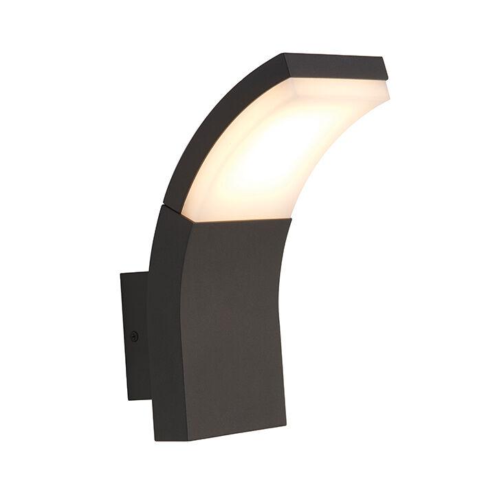 Ansell aseled WL-SENZA 6.5W LED Exterior De Jardín Luz de parojo de aluminio fundido a troquel