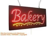 Bakery Sign Neon Sign Led Open Sign Store Sign Business Sign Window Sign