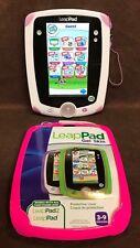 LeapFrog LeapPad1 Explorer Learning Tablet W/ New Pink Gel Skin - Works Great!!!