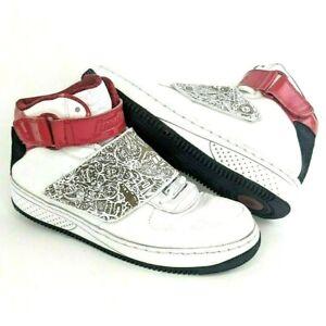fb9828669414 Nike Air Jordan Fusion AJF 20 Size 8 Basketball 331823-101 White Red ...