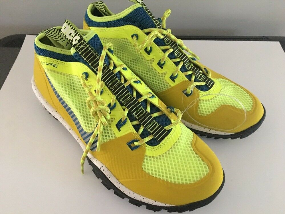 NIKE Mens Lunar Incognito Volt Hiking Shoes, SIZE 8, Volt Incognito Yellow, 631278-740, NEW 0b1986