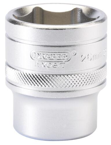 "26mm 16617 Genuine DRAPER 1//2/"" Square Drive 6 Point Metric Socket"