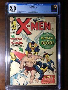 X-Men-3-1964-1st-Blob-CGC-2-0-Key