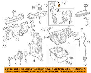 Mercedes Oem 10 14 Ml350 Engine Oil Filter 6421800009 Ebay