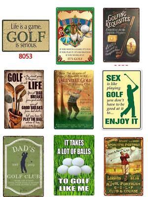 Golf Club Course Sports Ball Art, Golf Outdoor Decor