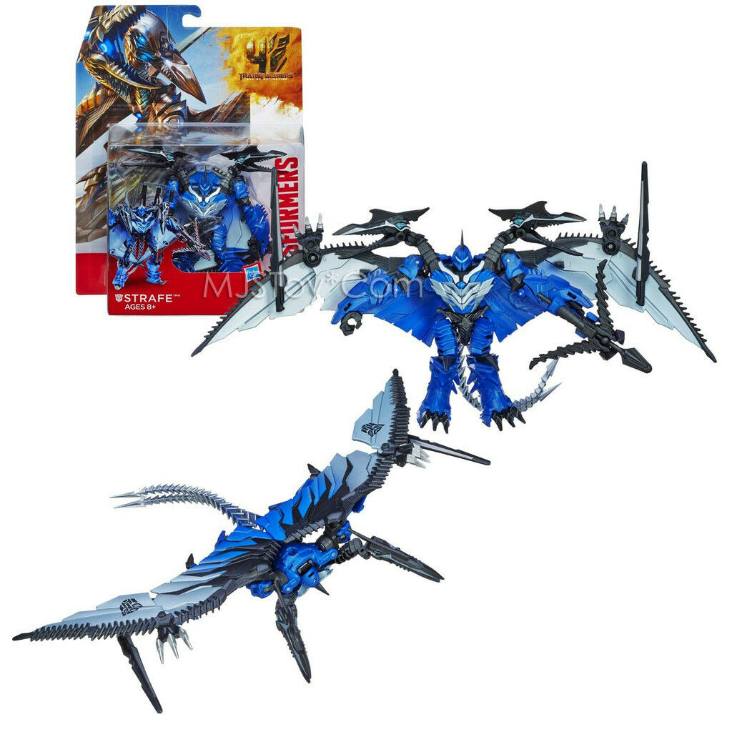 NEW Transformers Movie Age of Extinction Deluxe Class DINOBOT STRAFE 6