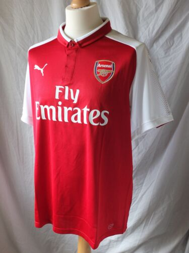 Brand New Genuine Arsenal 201718 Home Shirt Adults XL