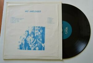 The Who Lp Who Unreleased Who Records Lpb 27 Ebay