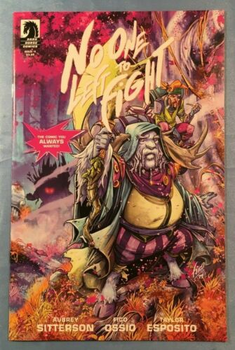 NO ONE LEFT TO FIGHT #1-5 FIRST PRINTS COMPLETE STORY NM