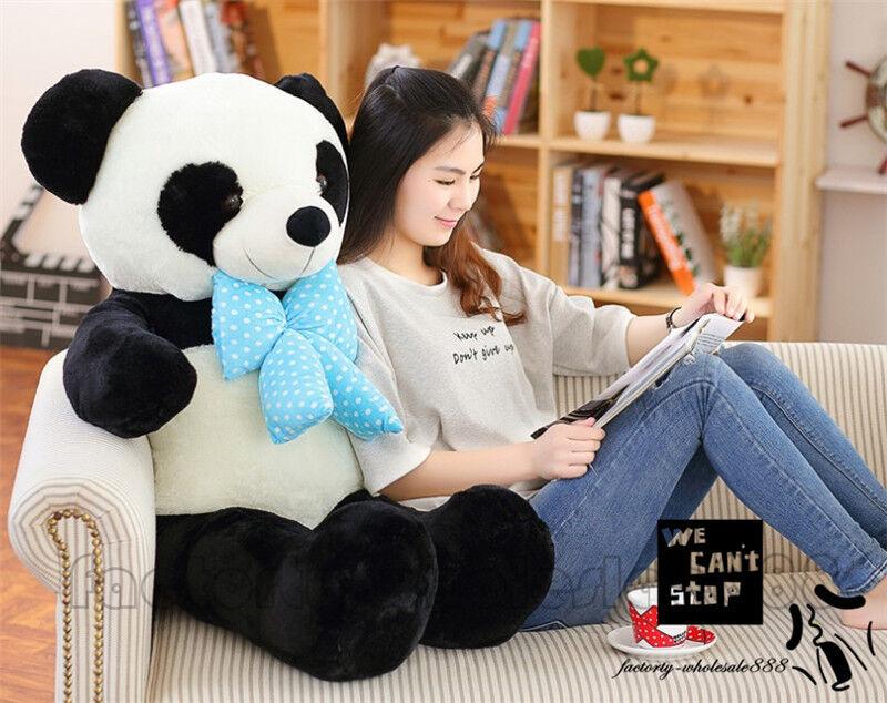 39'' Bear Plush Teddy Giant Big Huge Panda Soft Toys Doll Kids Xmas Gift 100cm