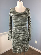Cynthia Rowley Anthropologie XS gray space dyed Sweater dress Excellent career