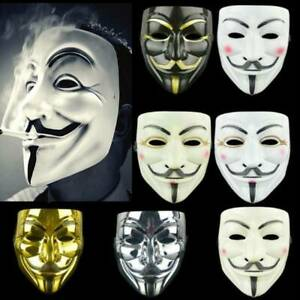 Adults Anonymous Hacker New Years V For Vendetta Guy Face Mask