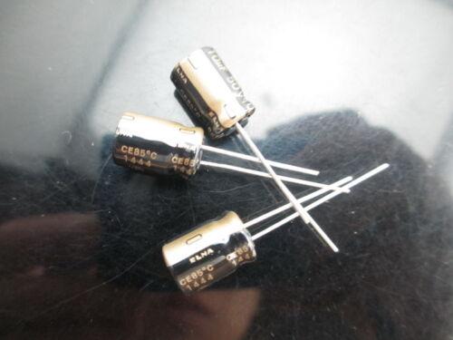 JAPAN 20PCS Elna Rfs silmic II 10uf 50V 10mfd Silk audio Capacitor New diy HiFi