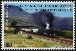 Details about BRITISH RAILWAYS (BR) BRITANNIA Standard Class 7 4-6-2 Train  Locomotive Stamp #1