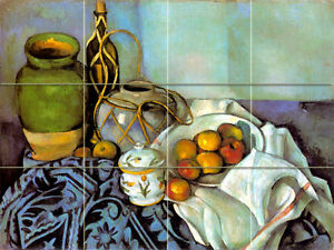 Image Is Loading 24 X 18 Art Cezanne Les Jar Mural