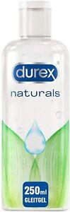 Durex Naturals Gleitgel aus 100% natürlichen Inhaltsstoffen Gleitmittel 250ml