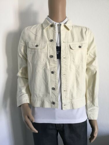 R estiva Knight Rugger Jacket Creme Nuova White 32 giacca Gant Gr M Col Zwx50qBB