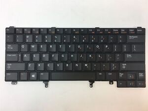 GENUINE-Dell-Latitude-E6430-Laptop-Backlit-Keyboard-w-Cable-G00CP-XMRJV-TESTED