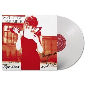 Mylene-Farmer-12-034-Beyond-My-Control-Edition-2018-Tirage-Limite-Vinyle-Blanc