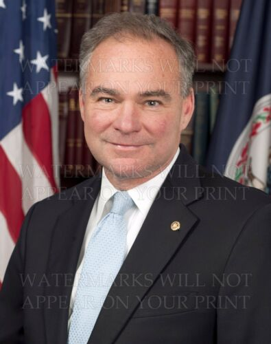 Tim Kaine official Senate photo CHOICE 5x7 or request 8x10 or digital or ...