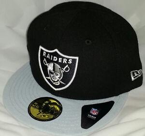 NWT NEW ERA LAS VEGAS RAIDERS LV oakland 59FIFTY fitted football cap ... 7f684872e706