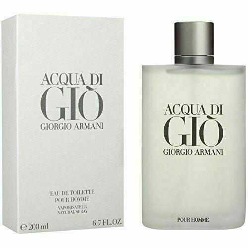 ACQUA DI GIO by Giorgio Armani EDT Spray 6.7 oz 200 mL Brand NEW In Box SEALED